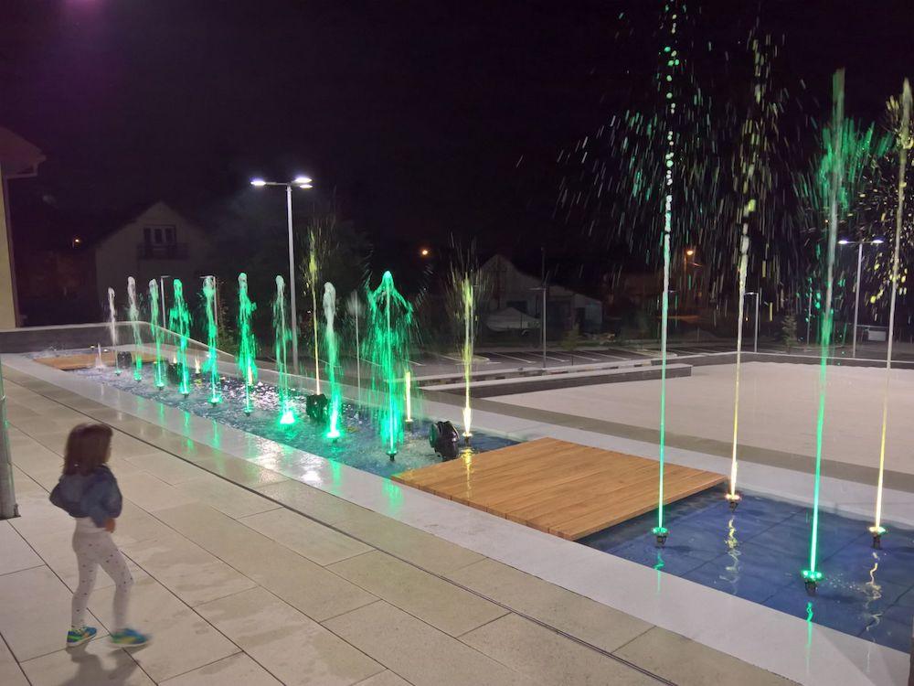 Stojarski i elektro radovi na fontanama