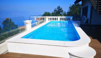 Skimerski bazen, 7×2,6×1,5m, lokacija Tuliševica