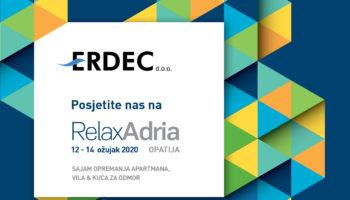 Pronađite nas na sajmu RelaxAdria 2020.